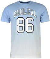 Soul Cal SoulCal Deluxe Gradient Print T Shirt