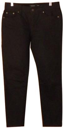 Lauren Ralph Lauren Black Denim - Jeans Trousers for Women