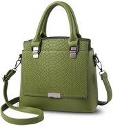 NICOLE&DORIS Top Handle Handbag Crossbody Shoulder Purse Bag Tote Women Satchel Waterproof PU Leather