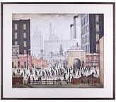 John Lewis L. S. Lowry - Coming From The Mill 1930 Framed Print, 80 x 68cm