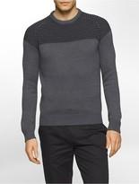 Calvin Klein Cotton Blend Textured Sweater