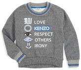 Kenzo Toddler Girl's Graphic Sweater