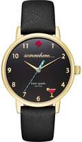 Kate Spade KSW1039 Metro 5 O'Clock gold-plated watch