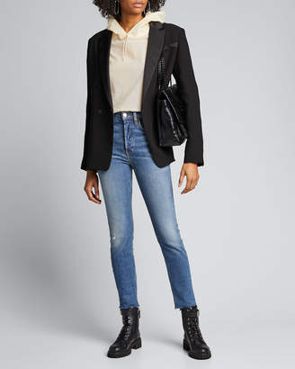 RE/DONE High-Rise Skinny Ankle Jeans
