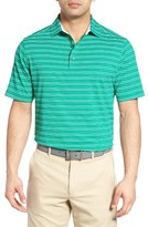 Bobby Jones Men's Xh20 Barley Stripe Stretch Golf Polo
