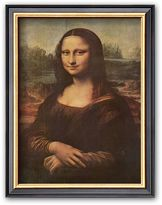 "Art.com Mona Lisa, c.1507"" Framed Art Print by Leonardo da Vinci"