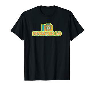 Mens Photographer Dad Design T-Shirt