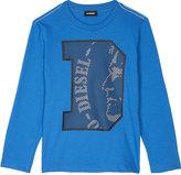 Diesel Logo cotton T-shirt 8-16 years