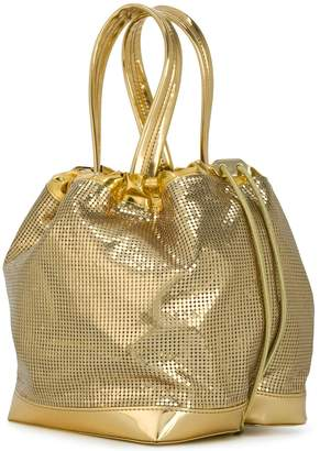 Paco Rabanne chainmail grab handle tote