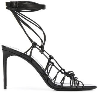 Saint Laurent Strappy 100 Sandals