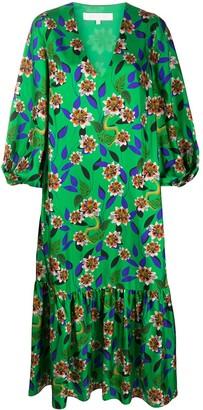 Borgo de Nor Marita v-neck midi dress