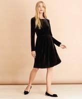 Brooks Brothers Velour Dress