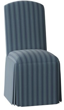 Sloane Whitney Crescent Side Chair Body Fabric: Ursula Midnight