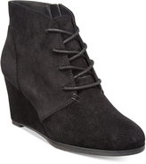 American Rag Baylie Lace-Up Wedge Booties, Only at Macy's Women's Shoes