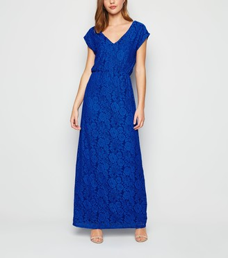 New Look Mela Bright Lace Maxi Dress