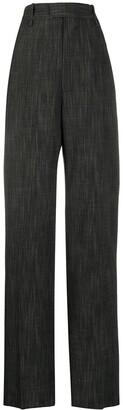 Bottega Veneta Wide-Leg Patterned Trousers