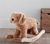 Pottery Barn Kids Nursery Fur Plush Rocker - Labradoodle
