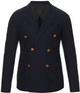 Gucci Double-breasted cotton-drill blazer