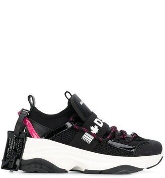 DSQUARED2 D-Bumby chunky sneakers