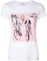 Blugirl bike print T-shirt