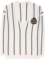 Brunello Cucinelli Appliquéd cashmere sweater