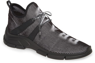 Prada High Top Knit Sneaker