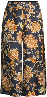 Kobi Halperin Anetta Floral Silk Culottes