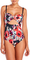 Kate Spade Floral Maillot One-Piece Swimsuit