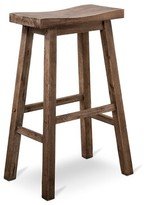 "Boraam Napa Distressed 29"" Barstool Hardwood/Gray"