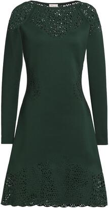 Temperley London Sami Laser-cut Neoprene Dress