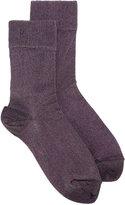 Isabel Marant Vicka lurex ankle socks