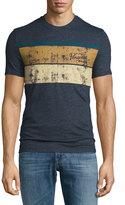 Original Penguin Stripe-Graphic Jersey T-Shirt, Blue