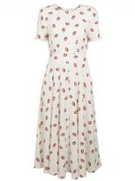 Essentiel Kiss Print Dress