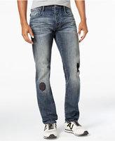 Armani Jeans Men's Regular-Fit Rip & Repair Jeans