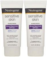 Neutrogena Sensitive Skin Sunscreen Lotion - SPF 60 - 3 oz - 2 pk