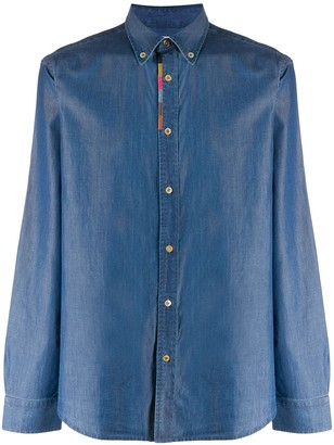 Paul Smith Long-Sleeve Denim Shirt