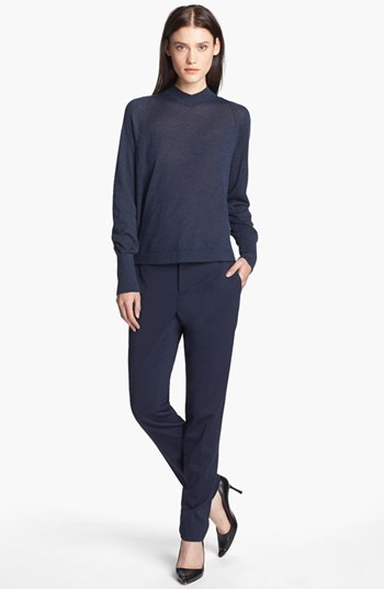 Theyskens' Theory 'Paction Fruma' Slim Stretch Wool Pants