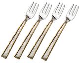Godinger Golden Frost Dessert Forks (Set of 4)