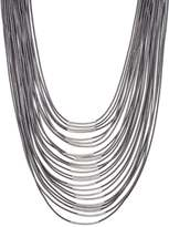 sweet deluxe LIV Necklace silver/grey