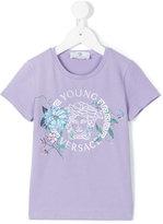 Versace floral Medusa printed t-shirt