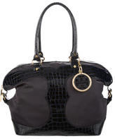 Tory Burch Embossed Patent Leather Tote