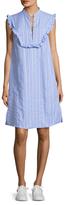 Paul & Joe Sister Alabama Cotton Stripe Midi Dress