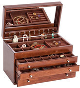 Mele Brigitte Wooden Jewelry Box