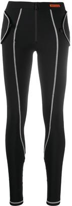 Heron Preston Contrast-Stitch Leggings