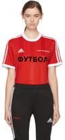 Gosha Rubchinskiy Red Adidas Originals Edition T-shirt