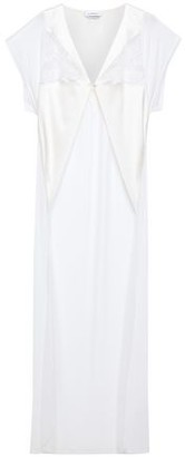 La Perla Lace-trimmed Satin Robe