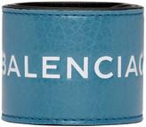 Balenciaga Blue Cycle Logo Bracelet