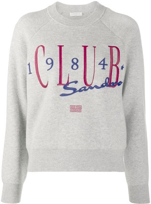 Sandro Club 1984 Embroidered Jumper