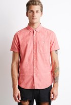 Forever 21 Textured Pocket Shirt