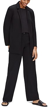 Eileen Fisher Notched Collar Jacket